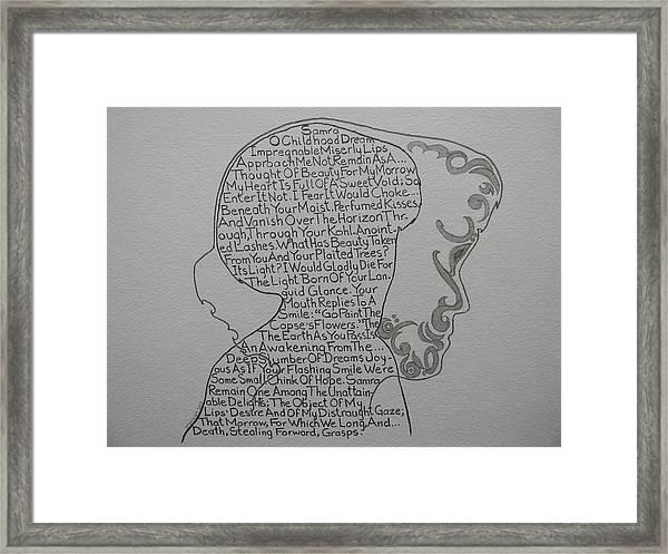 Samra Framed Print
