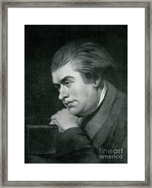 Samuel Johnson  Portrait Framed Print