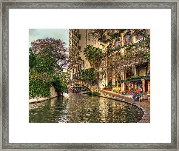 San Antonio Riverwalk Framed Print