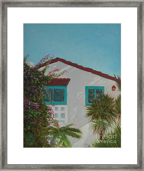 San Clemente Art Supply Framed Print