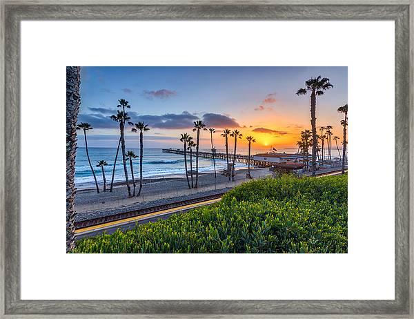 San Clemente Framed Print