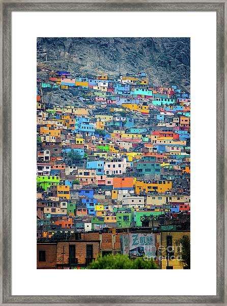 San Cristobal Framed Print