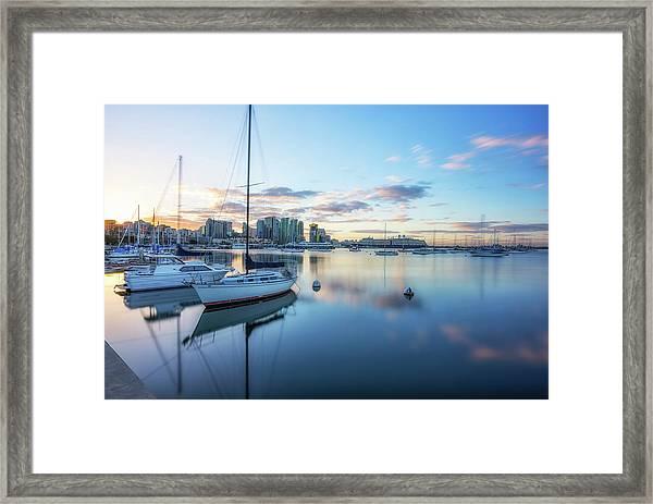 San Diego Calm Framed Print