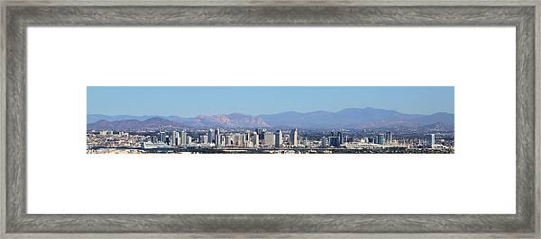 San Diego Pano Framed Print