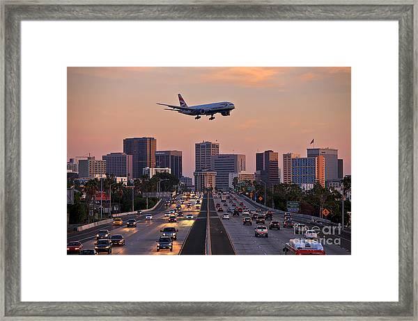 San Diego Rush Hour  Framed Print