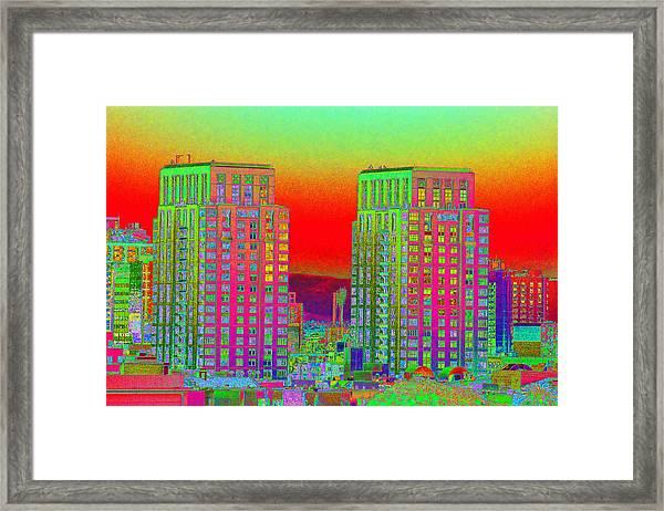 San Diego Scenic Framed Print