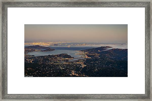 San Francisco Bay Area Framed Print