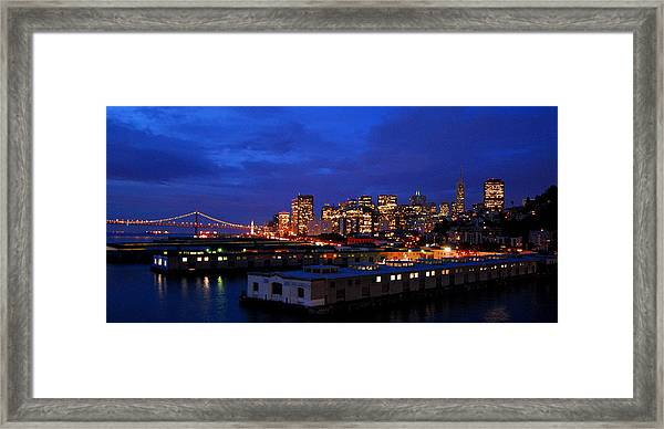 San Francisco Bay Framed Print