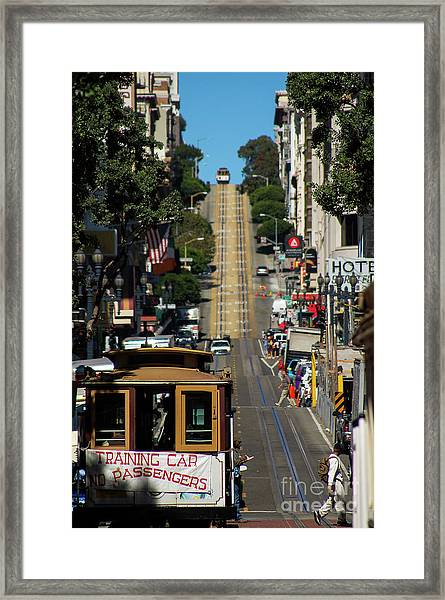 San Francisco Cable Cars Framed Print