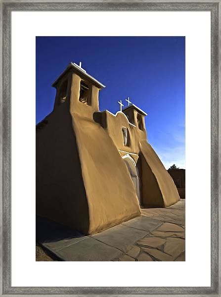 San Francisco De Asis Church  Framed Print