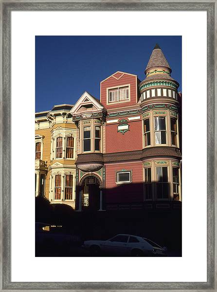 San Francisco Haight Ashbury - Photo Art Framed Print