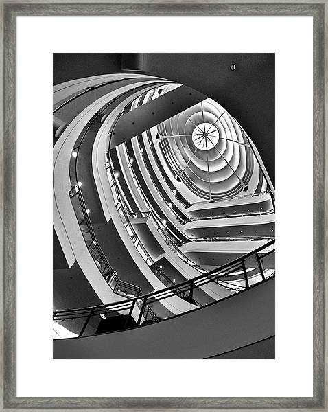 San Francisco - Nordstrom Department Store Architecture Framed Print