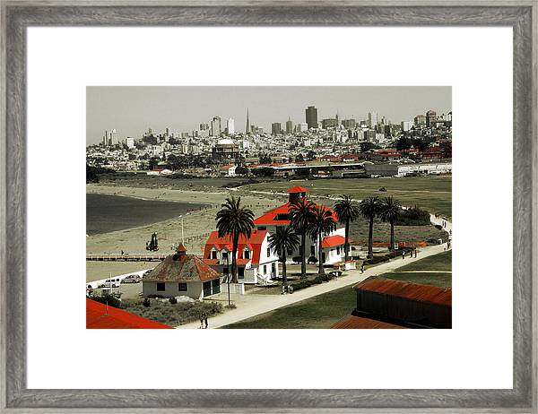 San Francisco Panorama 2015 Framed Print