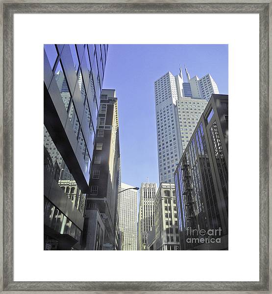 San Francisco Skyline Framed Print