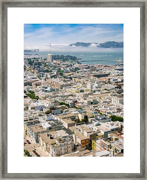 San Francisco Vista Framed Print