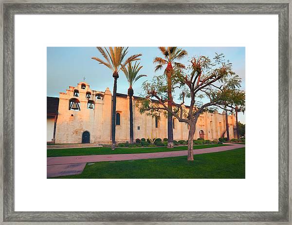 San Gabriel Mission California Framed Print