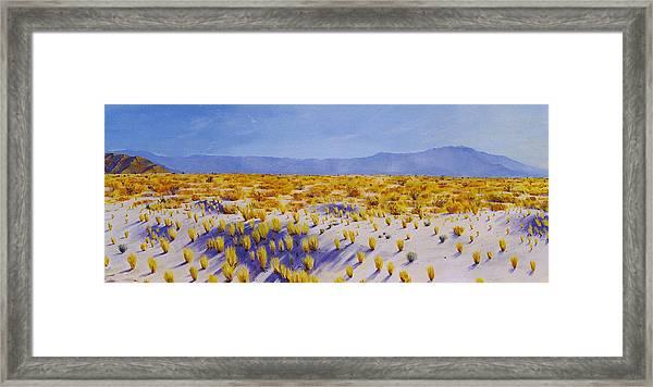San Jacinto Framed Print