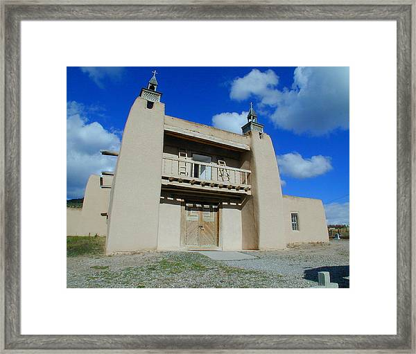 Framed Print featuring the photograph San Jose De Gracia Number 1 by Joseph R Luciano
