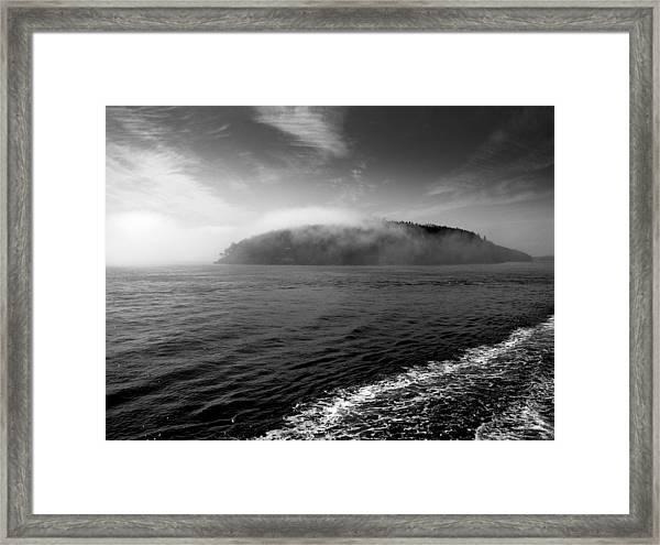 San Juan Islands Framed Print by Karla DeCamp