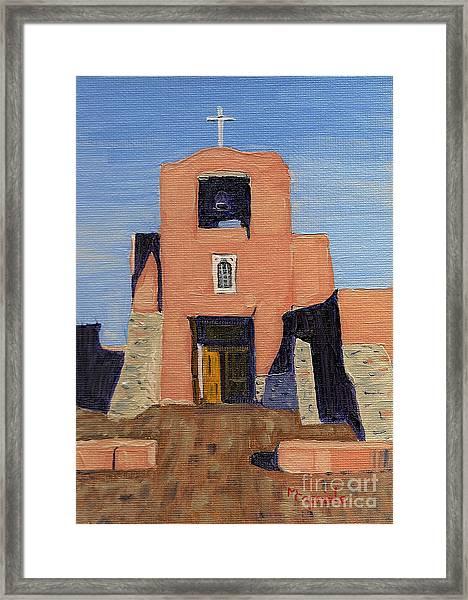 San Miguel Mission In Santa Fe Framed Print
