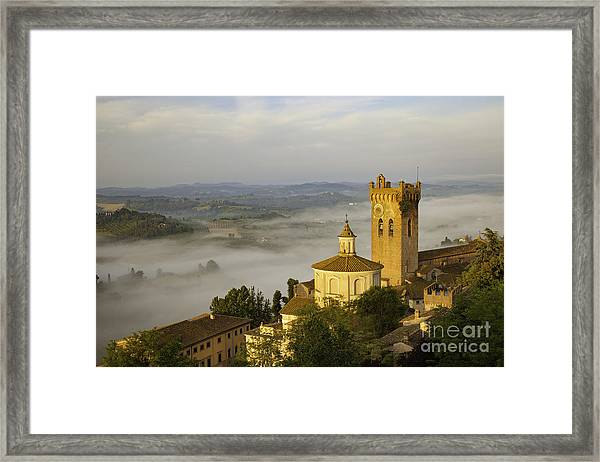Framed Print featuring the photograph San Miniato by Brian Jannsen