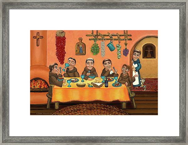 San Pascuals Table 2 Framed Print