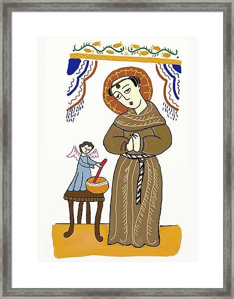 San Pasqual Framed Print