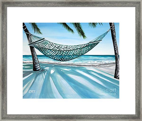 Sand And Shadows Framed Print