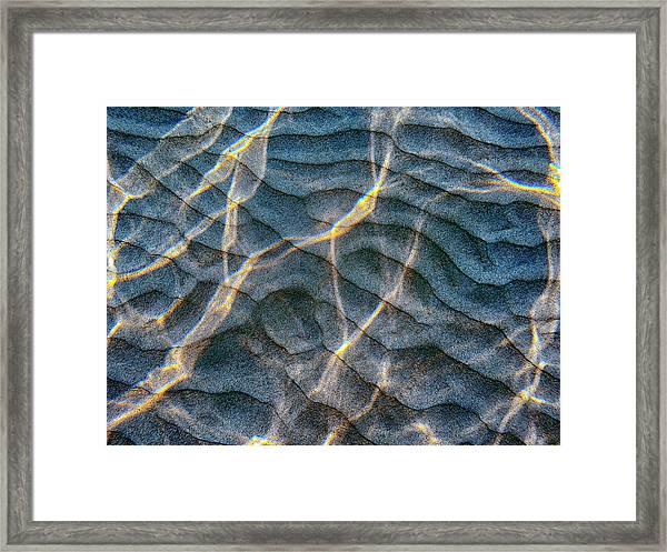 Sand Design Framed Print