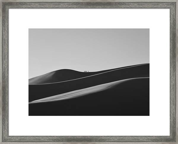 Sand Trekkers Framed Print