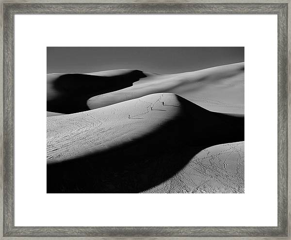 Sand Surfers Framed Print