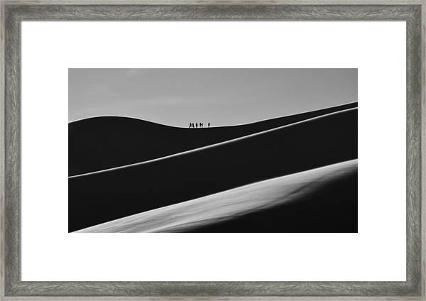Sand Trekkers 2 Framed Print