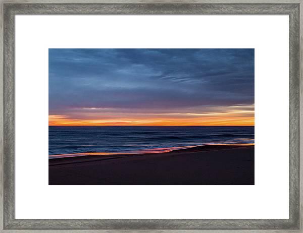 Sandbridge Sunrise Framed Print