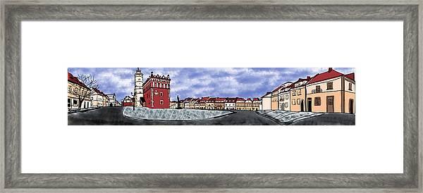 Sandomierz City Framed Print