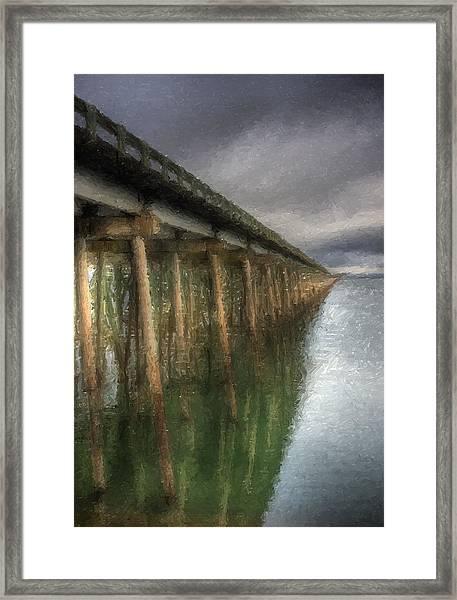 Sandpoint Longbridge  Framed Print