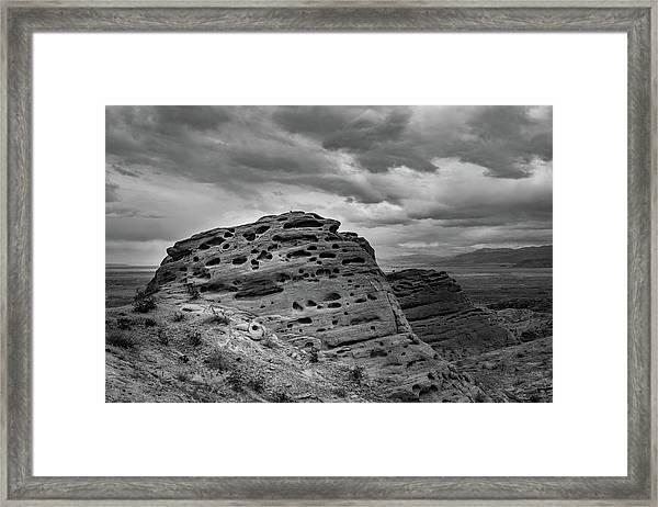 Sandstone Butte Framed Print