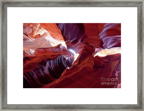Sandstone Unfurled Framed Print