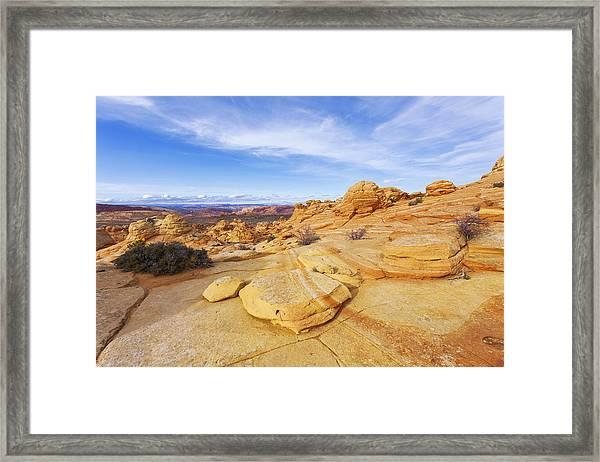 Sandstone Wonders Framed Print