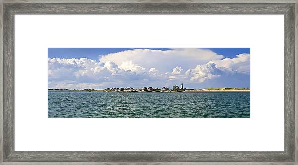 Sandy Neck Cottage Colony Framed Print