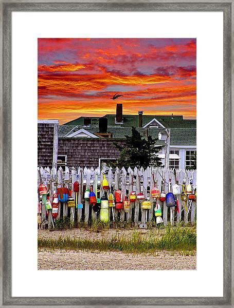 Sandy Neck Sunset Framed Print