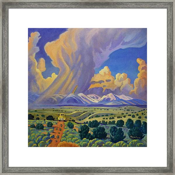 Sangre De Christo Passage Framed Print