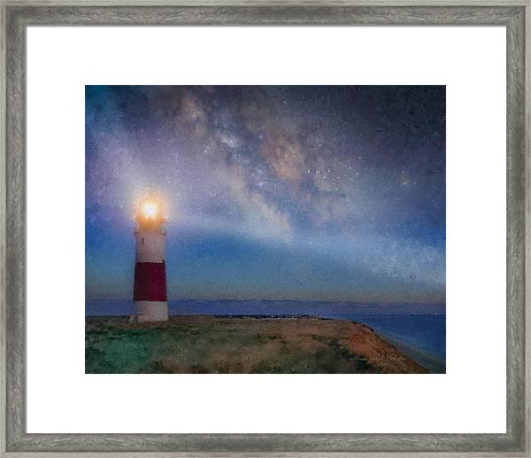 Sankaty Head Light, Nantucket Framed Print