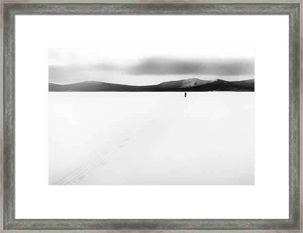 Sannikov Land Framed Print