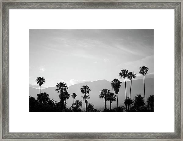 Santa Barbara I Bw Framed Print
