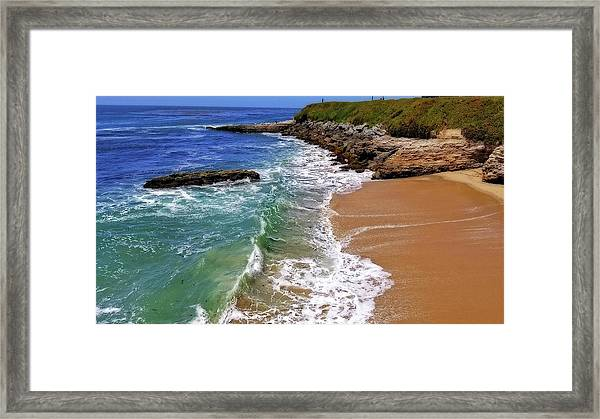 Santa Cruz  Framed Print