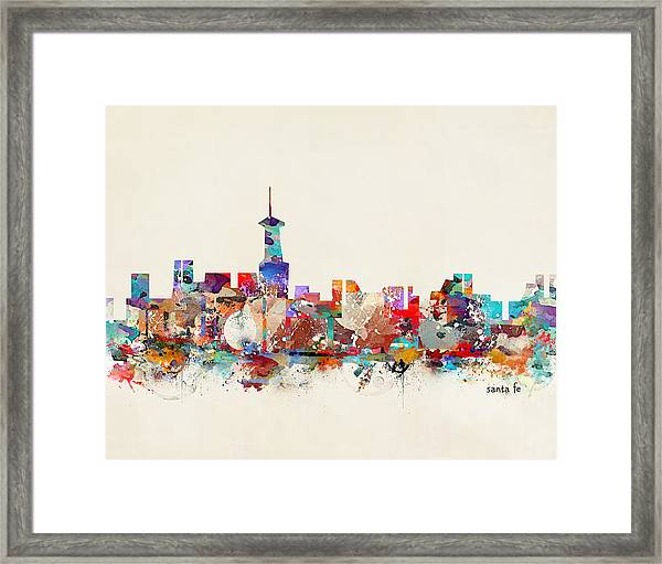 Santa Fe New Mexico Framed Print