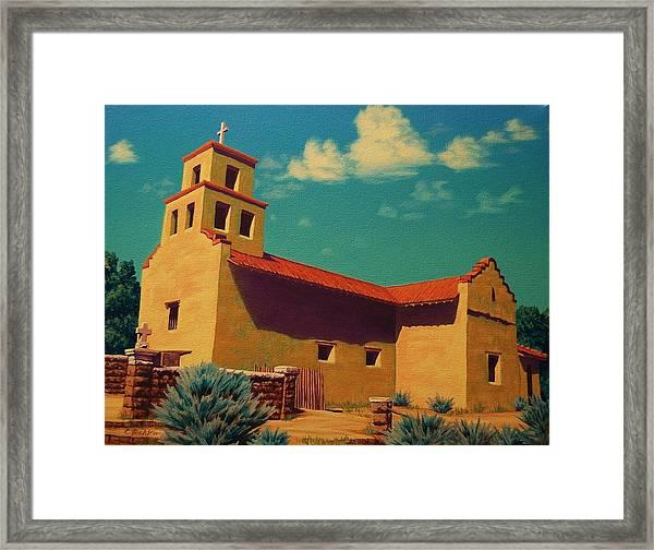 Santa Fe Tradition Framed Print