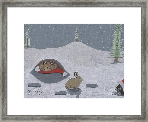 Santa's Ultimate Gift Framed Print