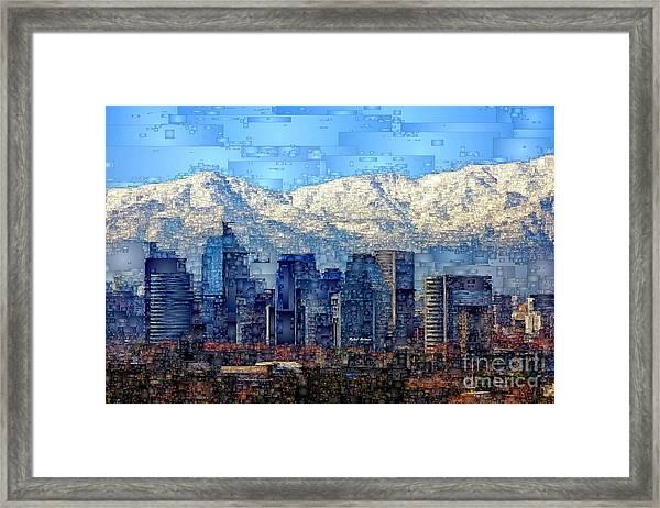 Santiago De Chile, Chile Framed Print