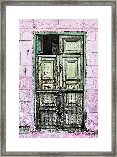 Santiago Portal Framed Print